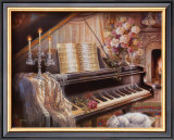 Sonata by Firelight Prints by Judy Gibson