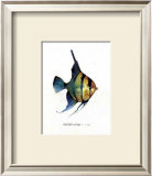Fish Tail I Posters by Carolyn Shores-Wright