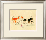 Playful Kittens I Wall Art by Kate Mawdsley