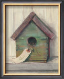 Birdhouse Art by Carol Rowan