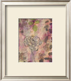 Rose Impressions II Posters by Sara Abbott
