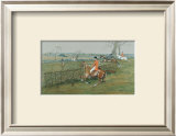 The Stake and Bound Limited Edition Framed Print by  Snaffles