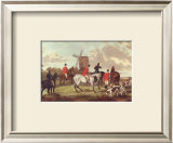 English Hunting Scenes I Art by William Joseph Shayer