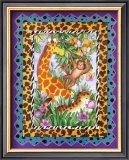 Wild Jungle I Poster by Marnie Bishop Elmer
