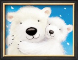 Fluffy Bears IV Print by Alison Edgson