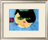 Cat's Head Art by Walasse Ting