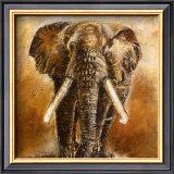 Elephant Posters by Olga Ilic
