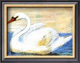 Swan Prints by Silvana Crefcoeur