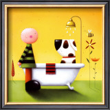 Bathtime Prints by Jo Parry