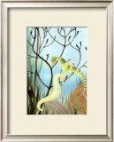 Seahorse Serenade II Posters by Charles Swinford