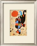Upside-Down Figures Prints by Joan Miró