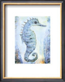 Seahorse Poster by Silvana Crefcoeur