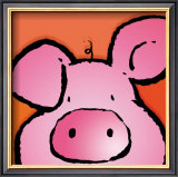 Pig Prints by Jean Paul