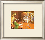 The Scratching Beagle Poster by Arthur Sarnoff