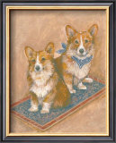Corgis Posters by Carol Ican