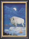 White Bison Art by M. Caroselli