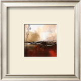 Symphony in Red and Khaki I Prints by Laurie Maitland