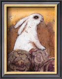 Rabbit Art by Silvana Crefcoeur