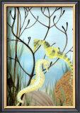 Seahorse Serenade II Print by Charles Swinford
