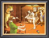 The Scratching Beagle Posters by Arthur Sarnoff