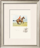 A Head Like a Lady Limited Edition Framed Print by  Snaffles