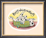 Busy Doing Nothing Wall Art by Kate Mawdsley