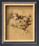 Dog's Life IV Print by  Mac