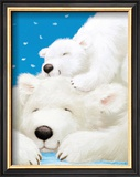 Fluffy Bears II Prints by Alison Edgson