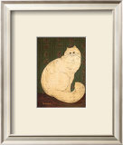 White Persian Cat Posters by Warren Kimble