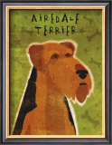 Airedale Terrier Prints by John Golden