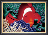 Clown Fish Print by Mark Mackay