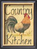 Country Kitchen Poster by Jo Moulton