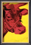 Cow, c.1966 (Yellow and Pink) Art by Andy Warhol