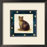 Cat Sitting Prints by Mary Mackey