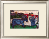Blue Donkey Posters by Marc Chagall