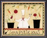 Soupalicious Prints by Dan Dipaolo