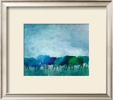 Cows I Prints by Gisela Funke