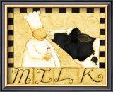 Milk Poster by Dan Dipaolo