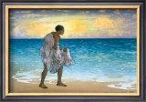 Hawaiian Fisherman Poster by Charles W. Bartlett