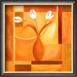 Flowers on the Square I Posters by Alfred Gockel
