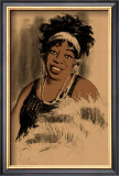 Ma Rainey Framed Giclee Print by Clifford Faust