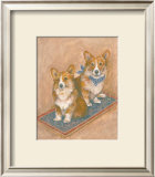 Corgis Poster by Carol Ican