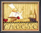 Cheese Posters by Dan Dipaolo
