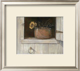 Sunflower and Copper Prints by Ruane Manning