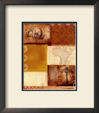 African Collage II Prints by Tom Alan