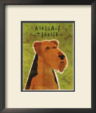 Airedale Terrier Posters by John Golden