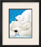Fluffy Bears II Posters by Alison Edgson