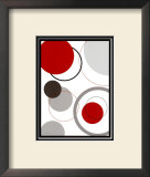 Circle Design Prints by Diane Moore
