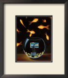 Life in a Wish Bowl Prints by Samy Charnine