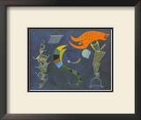 Mit dem Pfeil, c.1943 Posters by Wassily Kandinsky